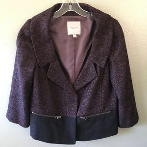 nordstrom collection tweed blazer jacket